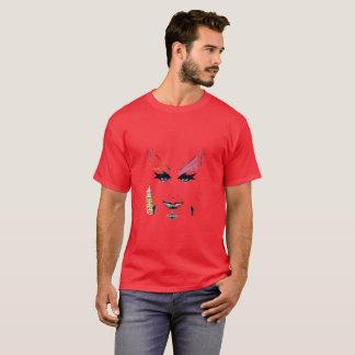 Camiseta Eu ver pessoas estranhas