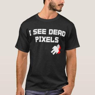 Camiseta Eu ver pixéis inoperantes