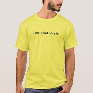 Camiseta Eu ver povos inoperantes