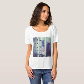 Camiseta Eu ver que você e eu o queremos por JP Choate