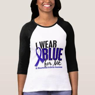 Camiseta Eu visto o azul mim RA da artrite reumatóide