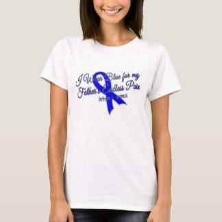 Camiseta Eu visto o azul para o t-shirt infinito da dor do