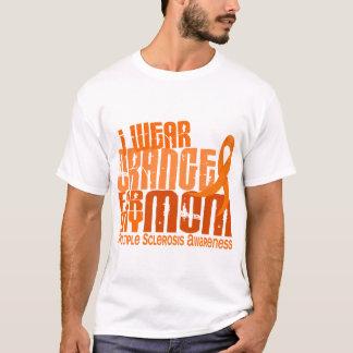 Camiseta Eu visto o MS alaranjado da esclerose múltipla da