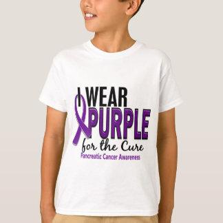 Camiseta Eu visto o roxo para o câncer de pâncreas da cura