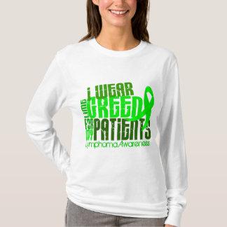 Camiseta Eu visto o verde limão para meu linfoma dos