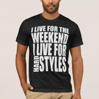 Camiseta Eu vivo para o fim de semana