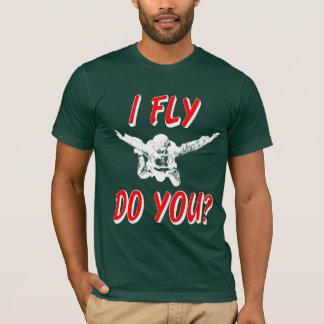 Camiseta Eu vôo, faz você? (branco)