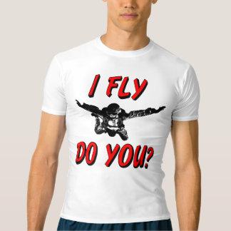 Camiseta Eu vôo, faz você? (preto)