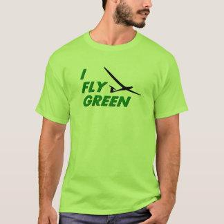 Camiseta Eu vôo o VERDE