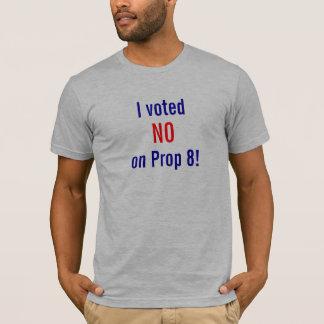 Camiseta Eu votei NÃO no suporte 8!