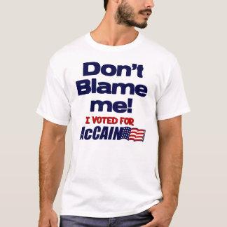 Camiseta Eu votei para McCain
