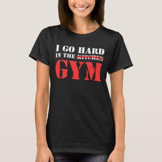Camiseta eu vou duro no gym