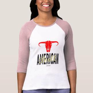 Camiseta EUA americanos Bull por VIMAGO