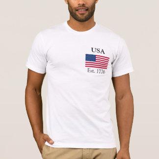 Camiseta EUA Est. 1776
