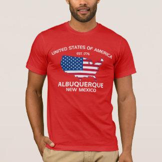 Camiseta EUA EST. ALBUQUERQUE 1776 New mexico