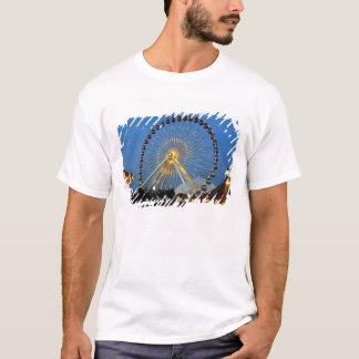 Camiseta EUA, Illinois, Chicago, arquitecturas da cidade,