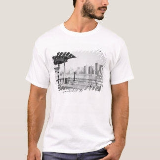 Camiseta EUA, NEW YORK: Lower Manhattan da Nova Iorque