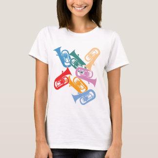 Camiseta Euphoniums coloridos