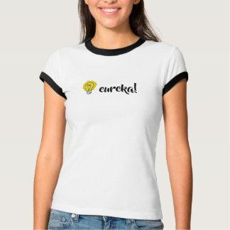 Camiseta Eureka! T-shirt da ilustração da ideia da ampola