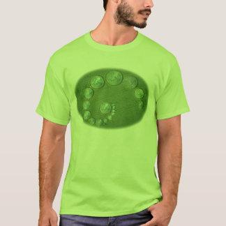 Camiseta Euro- círculos da colheita