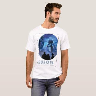 Camiseta Europa - descubra a vida sob o gelo