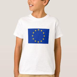 Camiseta Europa estandarte