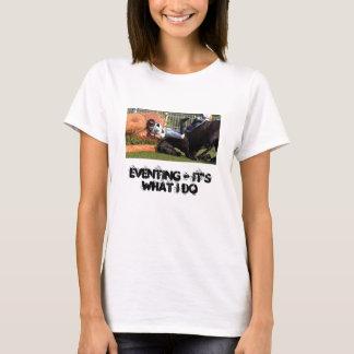 Camiseta Eventing - é o que eu faço