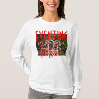 Camiseta EVENTING. Não é apenas um esporte, ele é um estilo