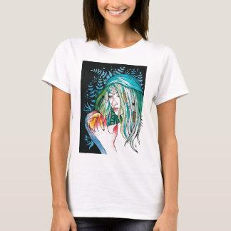 Camiseta Evergreen - retrato da aguarela