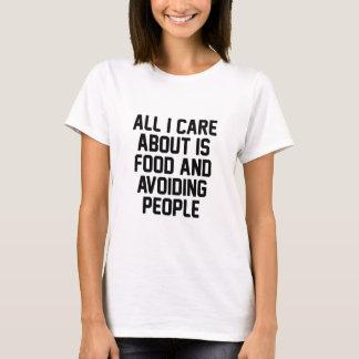 Camiseta Evitando pessoas