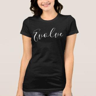 Camiseta Evolua a obscuridade do t-shirt