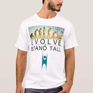 Camiseta Evolua & esteja alto