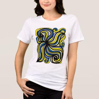 """Camiseta """"Evolua"""" o t-shirt apto relaxado das mulheres"""