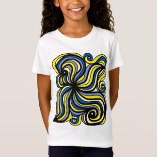"""Camiseta """"Evolua"""" o t-shirt fino do jérsei das meninas"""