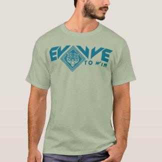 Camiseta Evolua para ganhar o t-shirt
