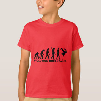 Camiseta Evolução Breakdance