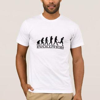 Camiseta Evolução - corredor do homem