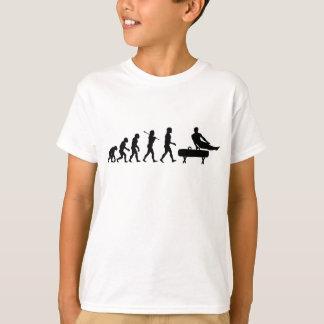 Camiseta Evolução da ginástica do cavalo de Pommel