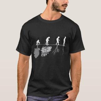 Camiseta Evolução da humanidade e do ambiente