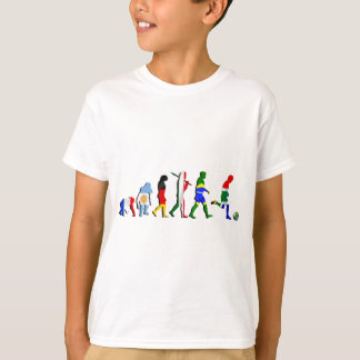 Camiseta Evolução de África do Sul de presentes do futebol