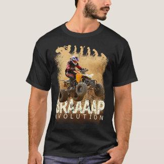 Camiseta Evolução de Brap da bicicleta do quadrilátero de