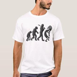 Camiseta Evolução de Kokopelli