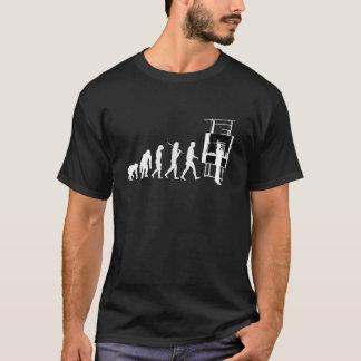 Camiseta Evolução do arquiteto do relator da arquitetura
