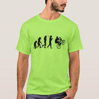 Camiseta Evolução do ciclista
