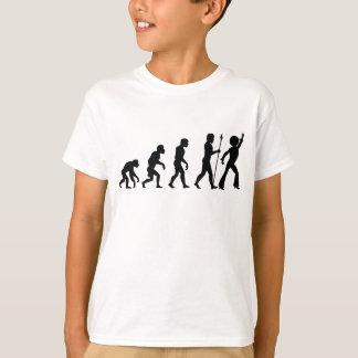 Camiseta Evolução do disco