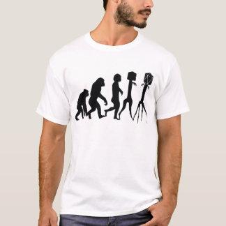Camiseta Evolução do fago,