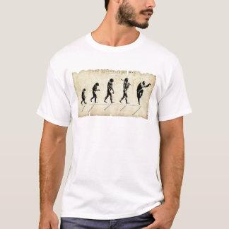 Camiseta Evolução do fu do homem/kung