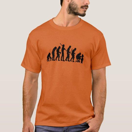 Camiseta Evolução do homem