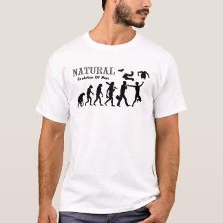 Camiseta Evolução do homem liberado (homem do naturista)