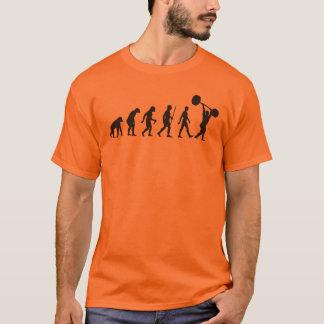 Camiseta Evolução do homem - Weightlifter